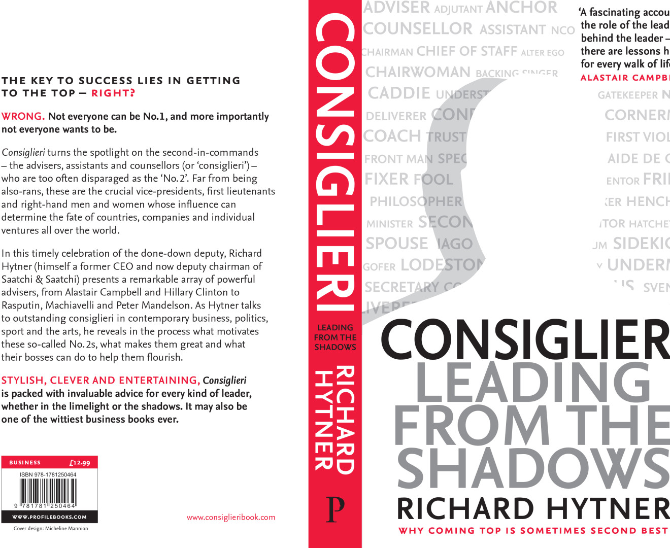 """Consiglieri makes WOB UK's """"3 to read for the summer"""""""